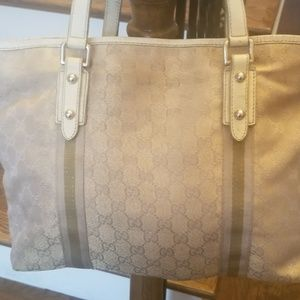 Gucci light pink tote